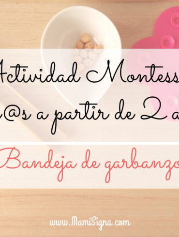 Montessori DY garbanzos